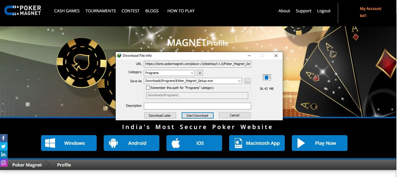 desktop pokermagnet